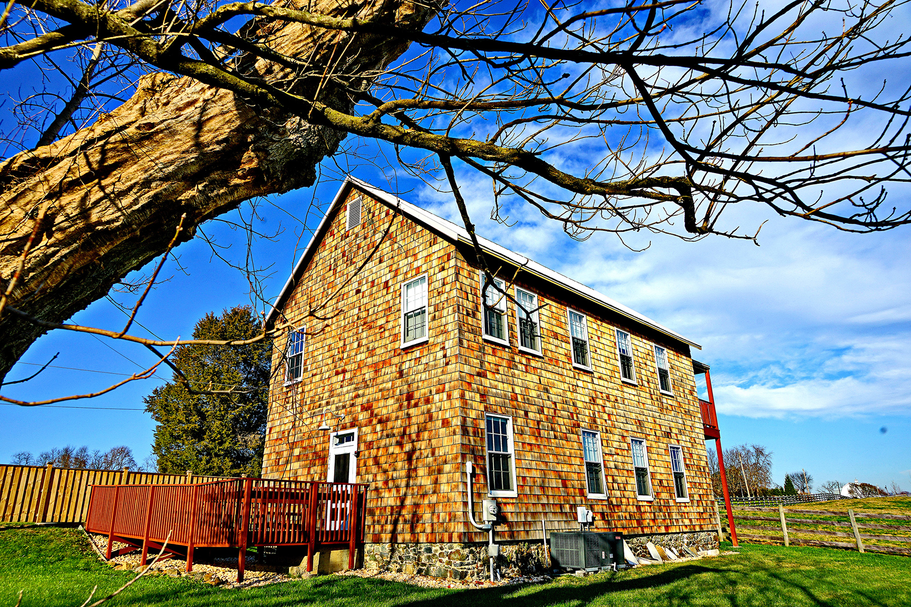 Hosanna School Museum - first Freedmen's Bureau School in Harford County