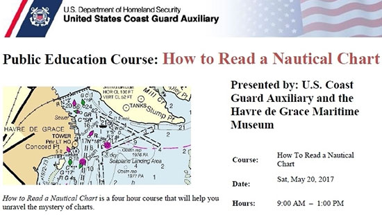 How to Read a Nautical Chart flyer