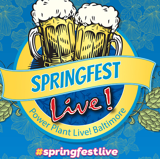 Springfest Live at the Power Plant logo