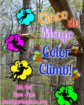Cinco de Mayo Color Climb poster