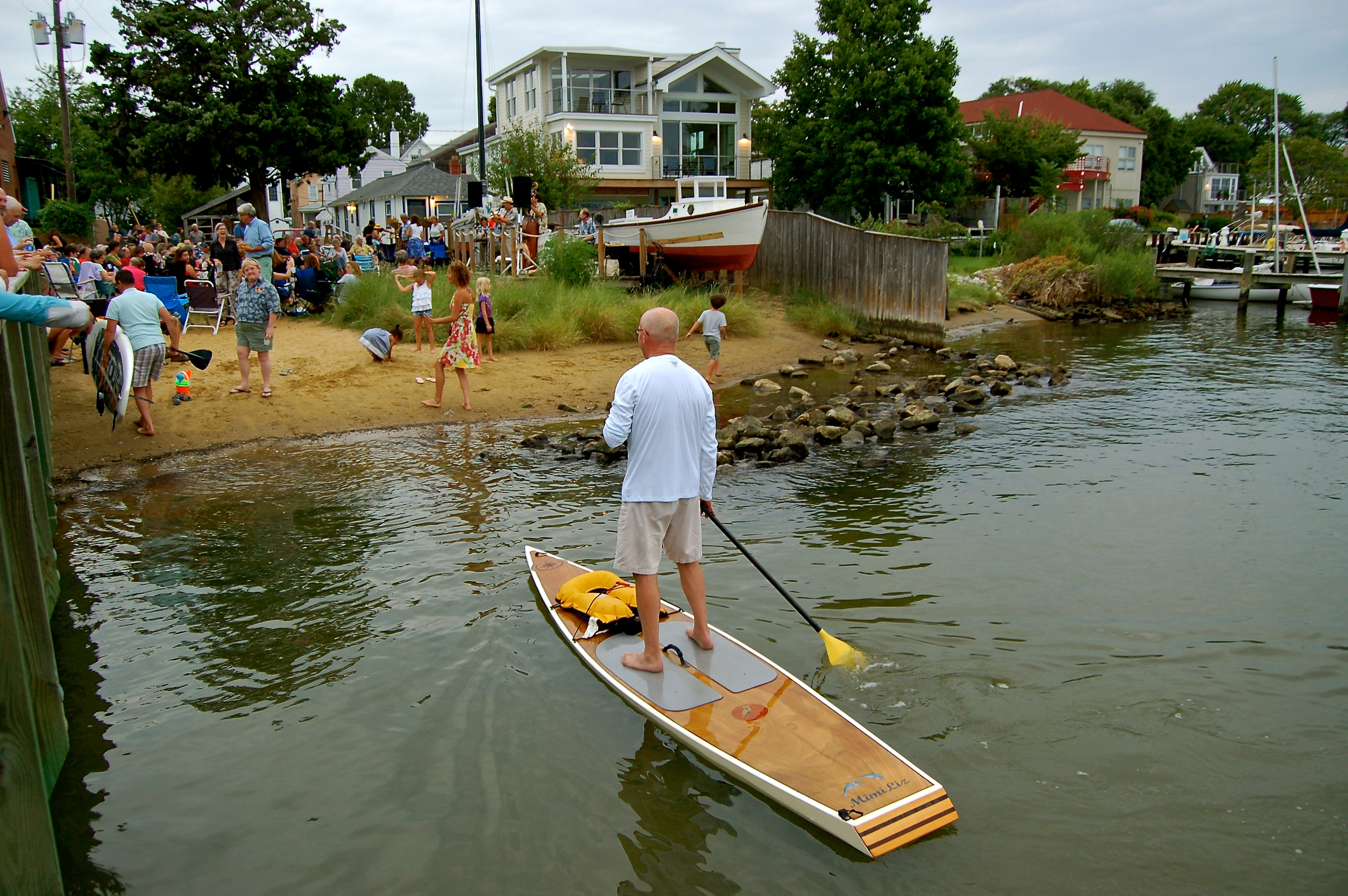 The Beach at Annapolis Maritime Museum