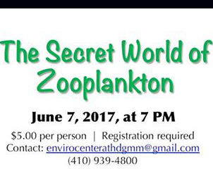 Title from Zooplankton event