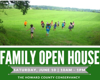 Open House at Howard Conservancy flyer