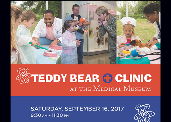 Medical Museum Teddy Bear Clinic poster