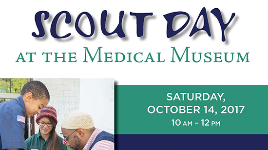 Medical Museum Scout Day poster