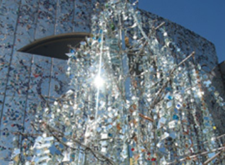 Shiny Happy Things Tree of Life Sculpture