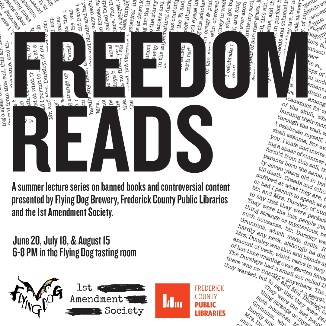 Freedom Reads flyer