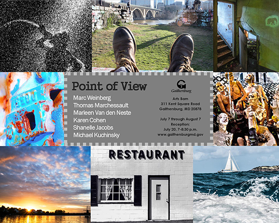 Point of View Gallery Exhibit at The Arts Barn