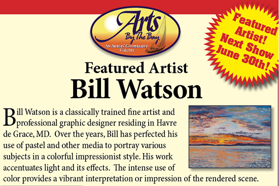 Arts by the Bay Gallery flyer