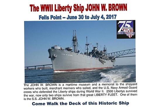 JWB Fells Point Poster