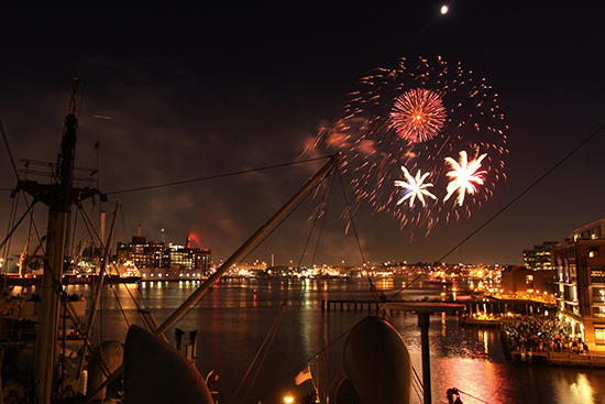 Fireworks on the BROWN in 2014