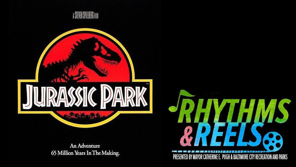 Rhythms and Reels - Jurassic Park poster