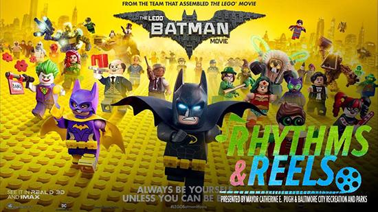 Rhythms and Reels - The Lego Batman Movie poster
