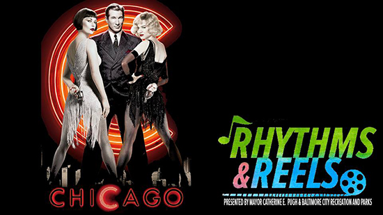 Rhythms and Reels - Chicago poster