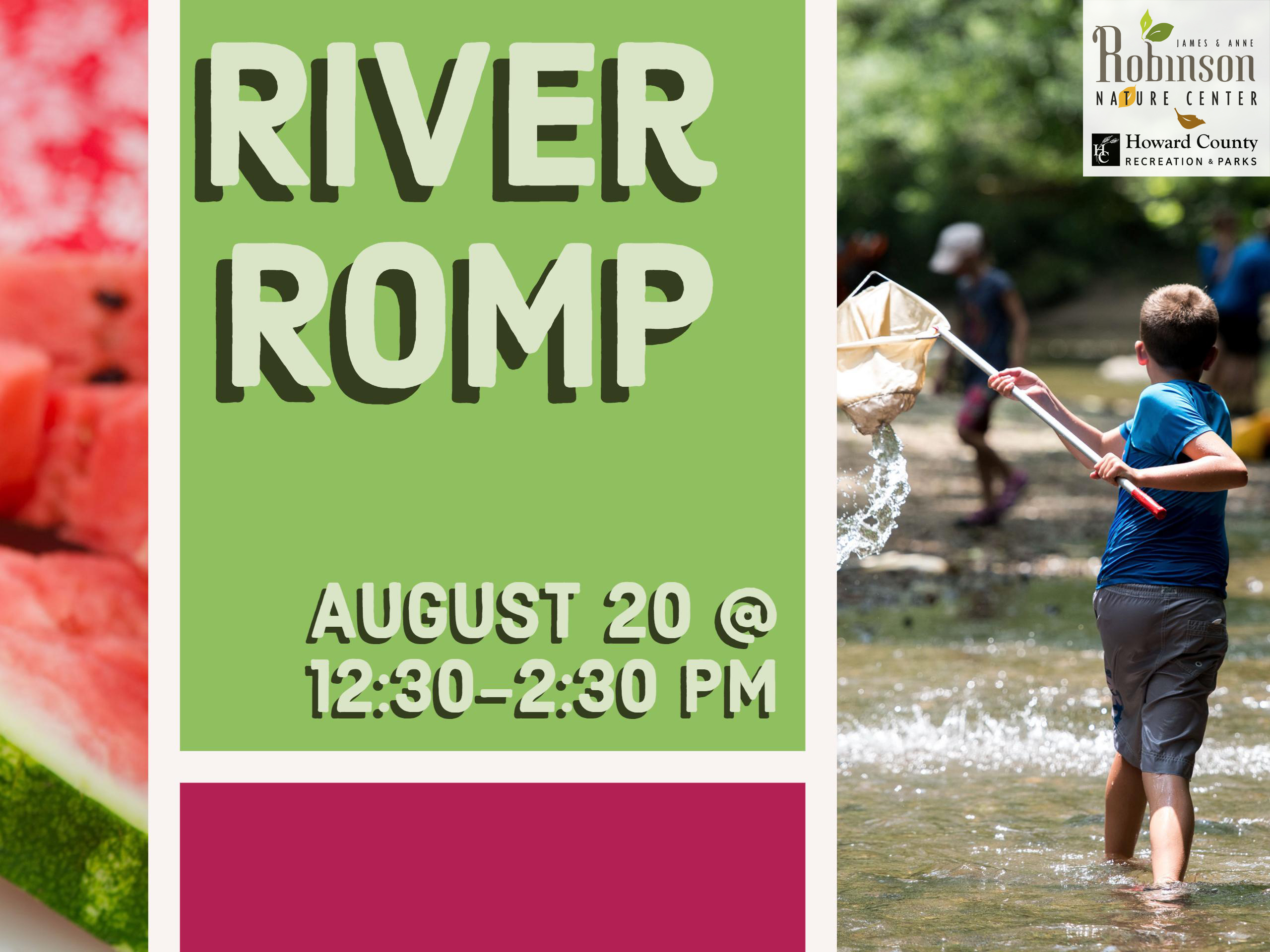 River Romp flyer