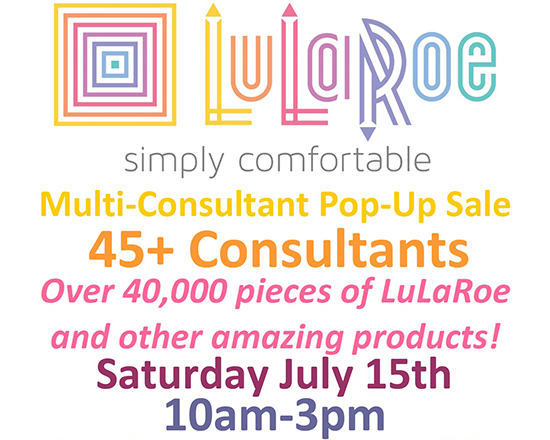 LuLaRoe and Woman's Expo flyer