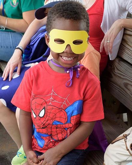 Super Hero Cutie on WSRR Super Hero Train