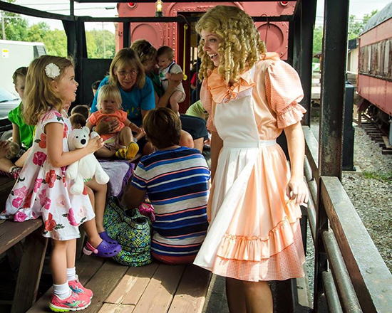Goldilocks on the WSRR Teddy Bear Train
