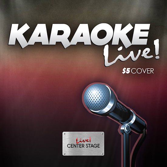 Karaoke Live poster
