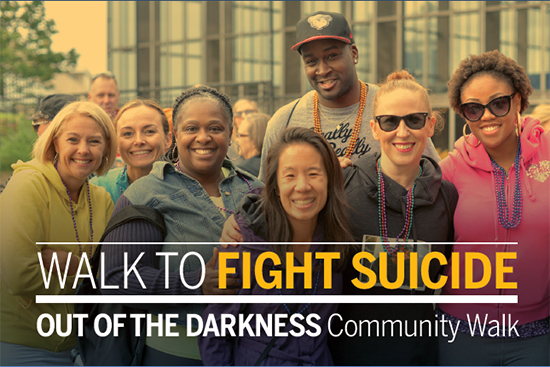 Frederick Out of the Darkness Walk poster