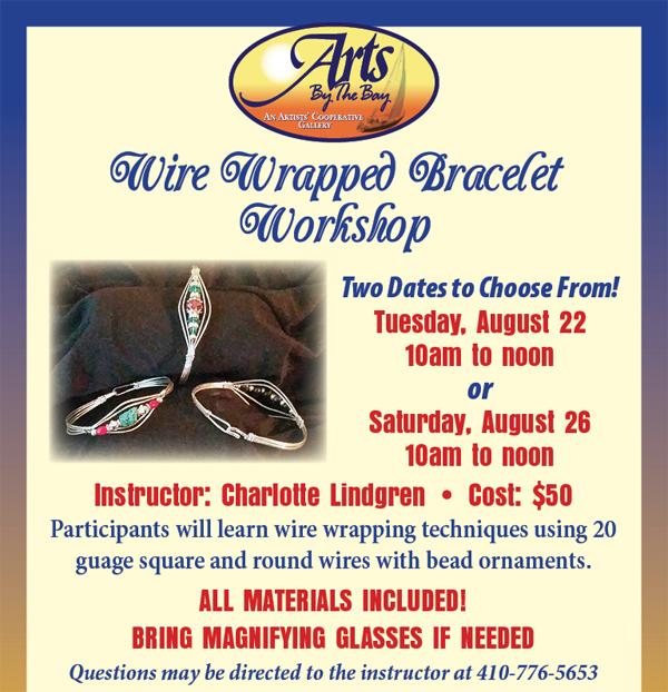 Wire Wrapped Bracelet Workshop