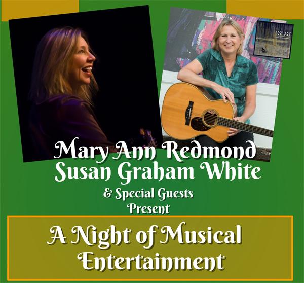 Mary Ann Redmond and Susan Graham White