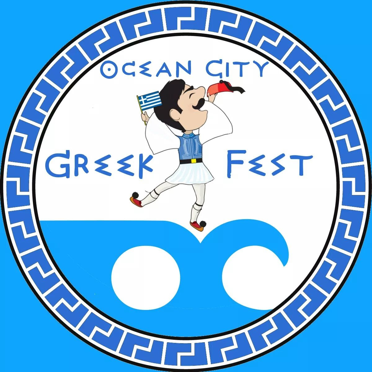 Ocean City Greek Festival Logo