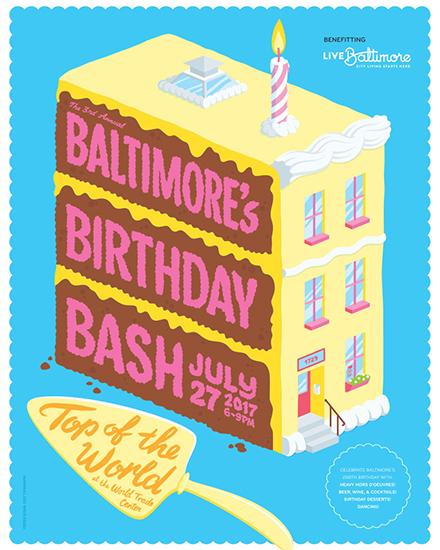 Baltimore's Birthday Bash poster