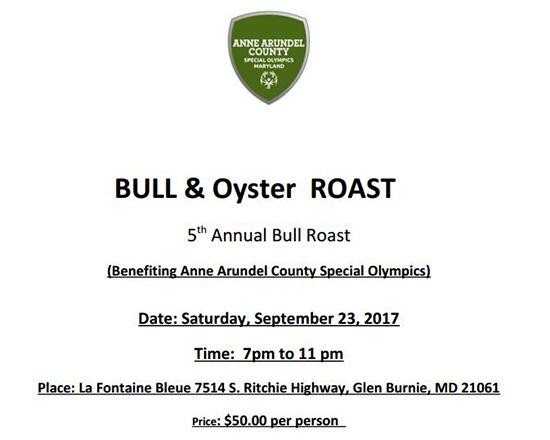 Bull & Oyster Roast flyer