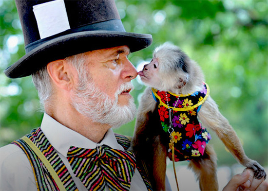 Monkey Man Jerry Brown and Django