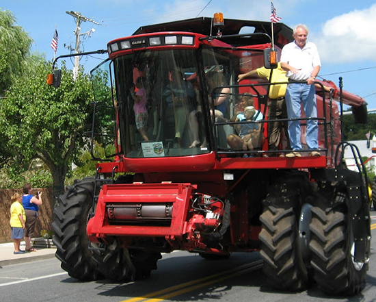 Photo of the Combine Parade