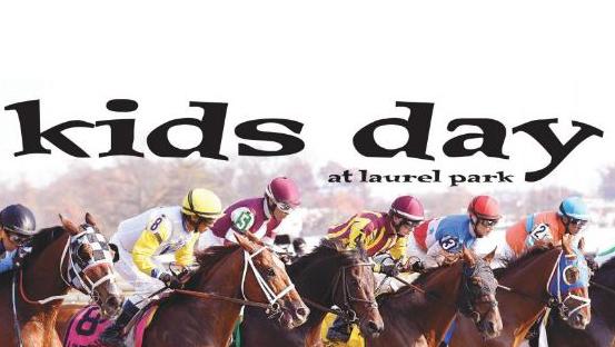 Kids Day at Laurel Park logo art