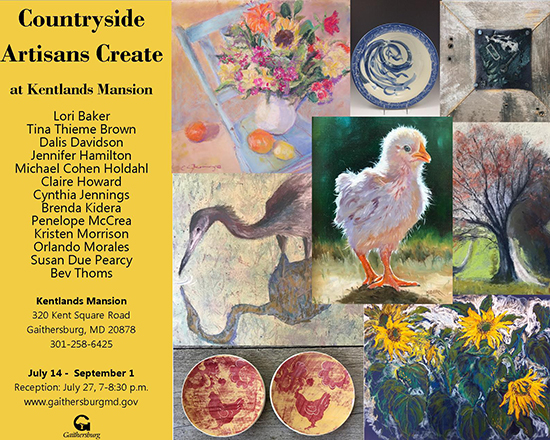 Countryside Artisans Create poster