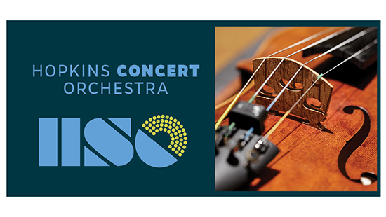 Concert Orchestra logo and violin image