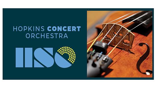 Concert Orchestra logo and violin image