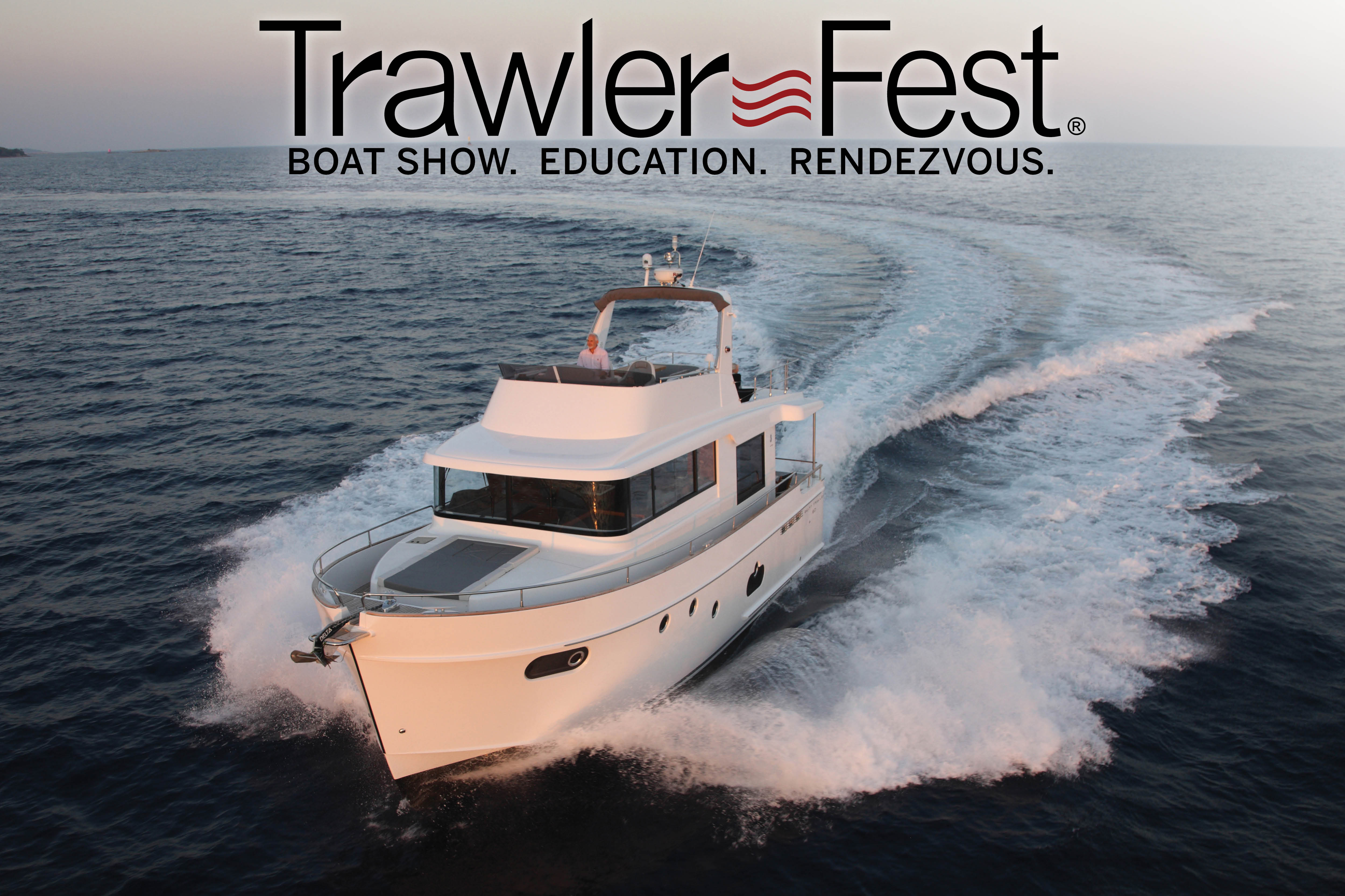 The Nation's Best In-Water Display of Cruising Powerboats