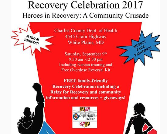 Recovery Celebration 2017 flyer