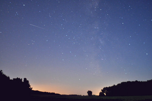 Photo of Perseid Meteor Shower
