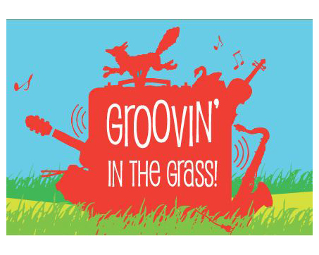 Groovin' in the Grass! logo