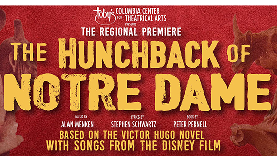 The Hunchback of Notre Dame regional premiers poster