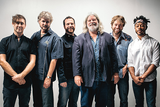 Press photo of the Band Leftover Salmon