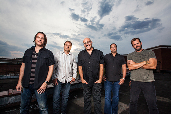 Press photo of the Band, Sister Hazel