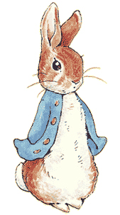 Colored Drawing of Peter Rabbit