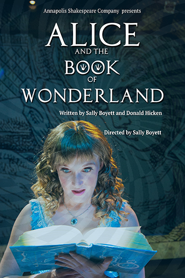 Alice and the Book of Wonderland poster