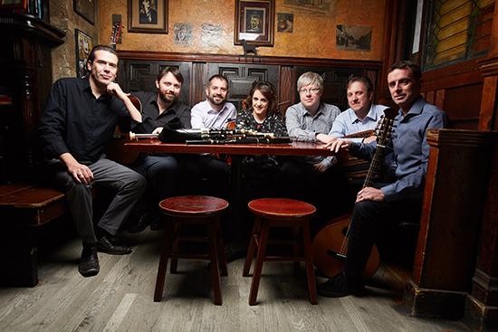 The Irish musicians of Danú