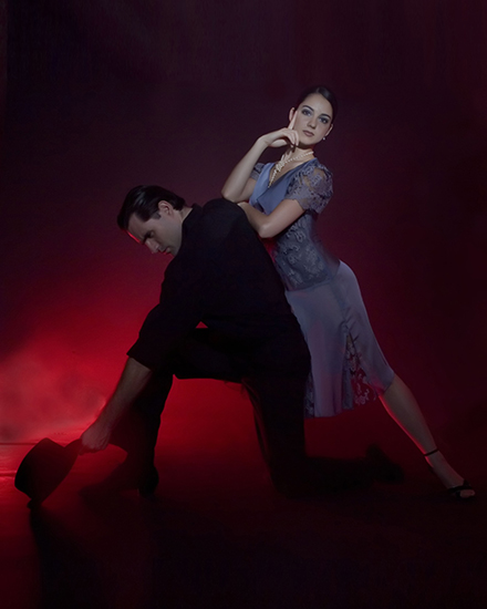 Two Dancers fromTango Buenos Aires
