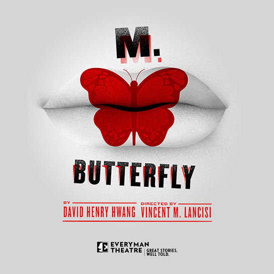 M. BUTTERFLY poster