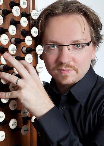 Felix Hell, organist