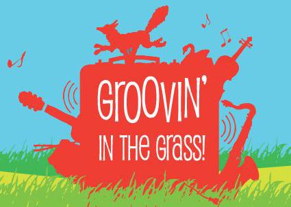 Groovin' in the Grass logo artwork