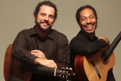 Photo of the Brasil Guitar Duo